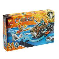 """Конструктор Chima 10350 """"Саблецикл Стрейнора"""", 160дет, в коробке"""