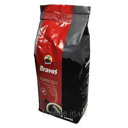 Кофе в зернах Bravos Espresso 1000г, фото 2