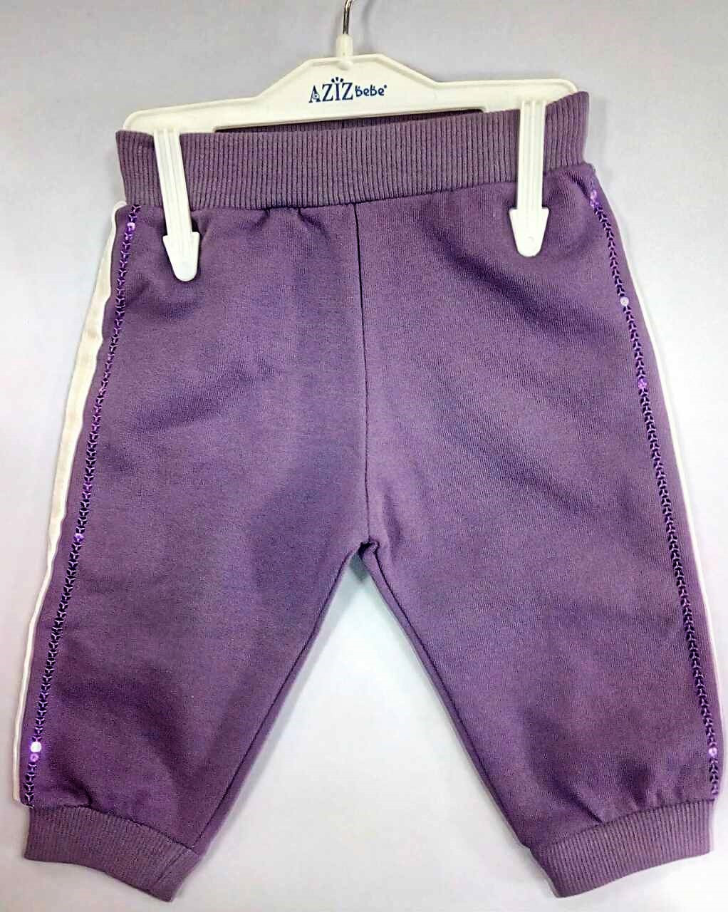 Спортивные штанишки для маленькой девочки тм Aziz Bebe р-ры 3-6,6-9,9-12