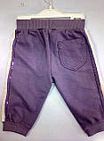 Спортивные штанишки для маленькой девочки тм Aziz Bebe р-ры 3-6,6-9,9-12, фото 2