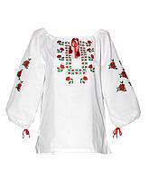 Десткая блуза вышиванка в школу и на праздник.