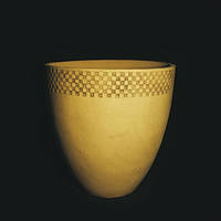 "Большой керамический вазон ""Аида(узор)"""