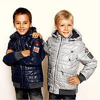 Демисезонная, осенняя куртка на мальчика Baby Line р 122-146 V70-14