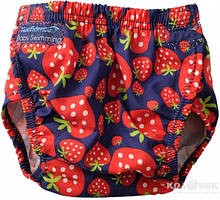 Плавательные трусы для малышей Konfidence AquaNappy Трусики Konfidence AquaNappy Strawberry