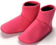 Неопреновые носки для бассейна и пляжа Konfidence Paddlers Носки Konfidence Paddlers, Fuchsia Pink, 6-12 мес