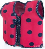 Плавательный жилет Konfidence Original Jacket 4-5 лет Konfidence Original Jacket 4-5 лет Ladybird Polka
