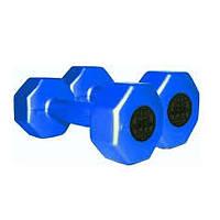 Гантели пластиковые InterAtletika ST560.1, 1кг (пара)