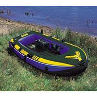 Трёхместная надувная лодка Seahawk 3 Intex 68349