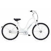 """Велосипед 26"""" Electra Townie Original 3i EQ электро оборудование Ladies' White"""