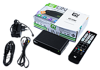 GI UNI (Smart TV Android+T2) - DVB-T2 Тюнер Т2 + Смарт ТВ приставка, фото 1