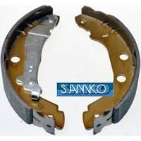 Тормозные колодки задние на Рено Кенго (d=228x42)  SAMKO 87340