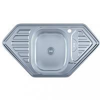 Мойка врезная 9550D нержавейка, покрытие décor, глубина 180 mm, Толщина 0.8 mm (MILLANO Imperial)