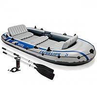 Надувная 5-х местная лодка Excursion 5 Set INTEX 68325 (366Х168Х43 СМ.)