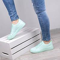 Кеды кроссовки женские Queen мятные, спортивная обувь