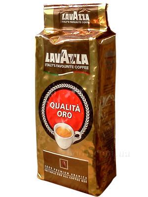Кофе Lavazza Qualita Oro (кофе Лавацца Квалита Оро) в зернах 250 гр