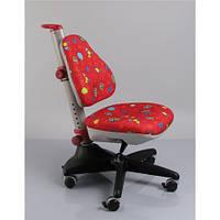 Кресло обивка красная с жучками MEALUX Conan Y-317 RR