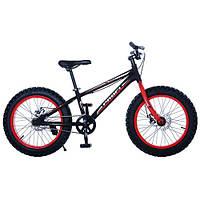 Велосипед двухколёсный 20XD10-2 Фэтбайк 20 дюймов ***