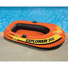 Двухместная надувная лодка Explorer 200