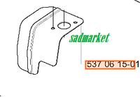 Пластина термозащитная садового пылесоса HUSQVARNA 356 BT, BX