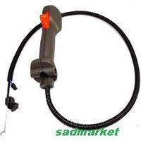 Ручка газа+трос(комплект)мотокосы HUSQVARNA 125 R - 128 R