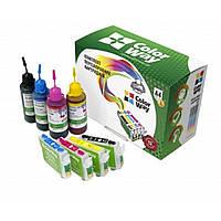 Комплект перезаправляемых картриджей ColorWay Epson XP600/XP605/XP700/XP800 (XP600RC-5.1)