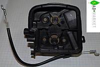 Корпус фильтра с тросиком газа бензопилы PARTNER, McCULLOCH CS 330, 360, 400, 420 T