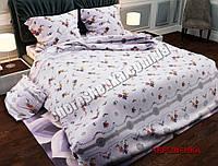 """Двуспальный набор постельного белья Бязь """"Gold"""" №005"""