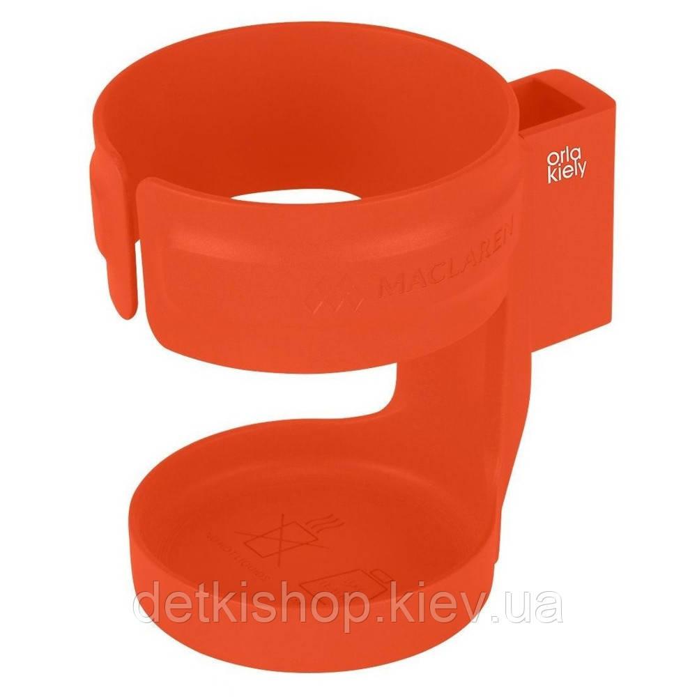Подстаканник для коляски Maclaren (оранжевый)