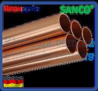 SANCO Труба медная твердая Wieland 15,0 x 1,0 (2,5 м.п.)