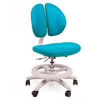 Кресло обивка голубая однотонная MEALUX Y-616 KBL