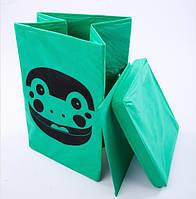 Ящик корзина для игрушек Жабка 35*35*55см УкрОселя