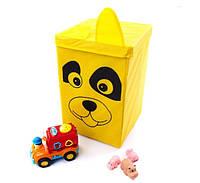 Ящик корзина для игрушек Собачка 35*35*55см УкрОселя