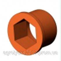Втулка шестигранная (металл.) под опору УПС, СУПН-8А, фото 2