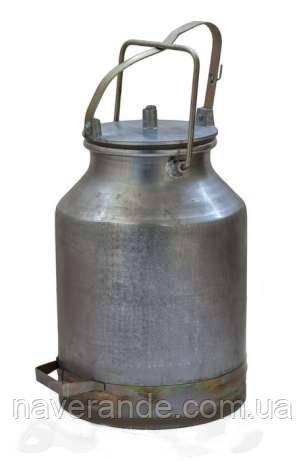 Доильное ведро с крышкой и прокладкой для доильного аппарата АИД, УИД