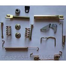 Ремкомплект задних тормозных колодок левый Авео GM Корея