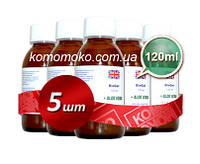 Биогель для педикюра и маникюра, гель на фруктовых кислотах, кислотный педикюр, Dermapharms UK, 120 мл 5шт