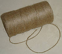 Шнурок-бечевка 1,5 мм коричневого цвета, фото 1