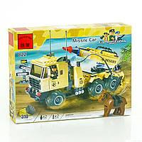 """BRICK 822 (22) """"Машина с ракетной установкой"""", 310 деталей, в коробке"""