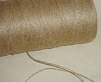Шнурок-бечевка 1 мм коричневого цвета, фото 1