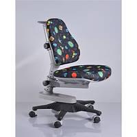 Кресло обивка черная с жучками MEALUX Y-818 GB