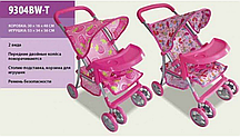 Детская коляска для кукол 9304 BW-T