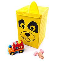 """Детский короб для хранения игрушек """"Собачка"""""""