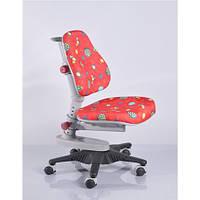 Кресло обивка красная с жучками Mealux Newton Y-818 RR