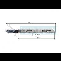 Пилочка для электролобзика WHIRL POWER T101BR 100 мм