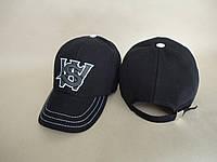 Бейсболка джинсовая черная WS