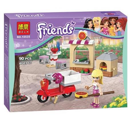 Конструктор Bela серия Friends / Подружки 10535 Пиццерия Стефани (аналог Lego Friends 41092), фото 2