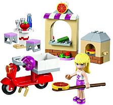 Конструктор Bela серия Friends / Подружки 10535 Пиццерия Стефани (аналог Lego Friends 41092), фото 3