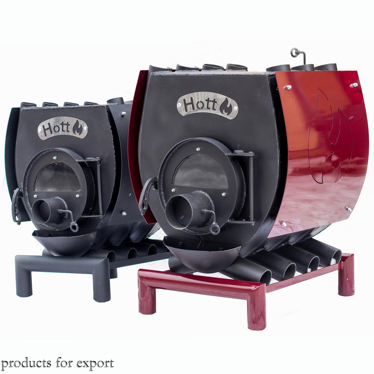 Печь булерьян отопительно варочная Hott (Хотт) Тип-06-1850-2000 м3