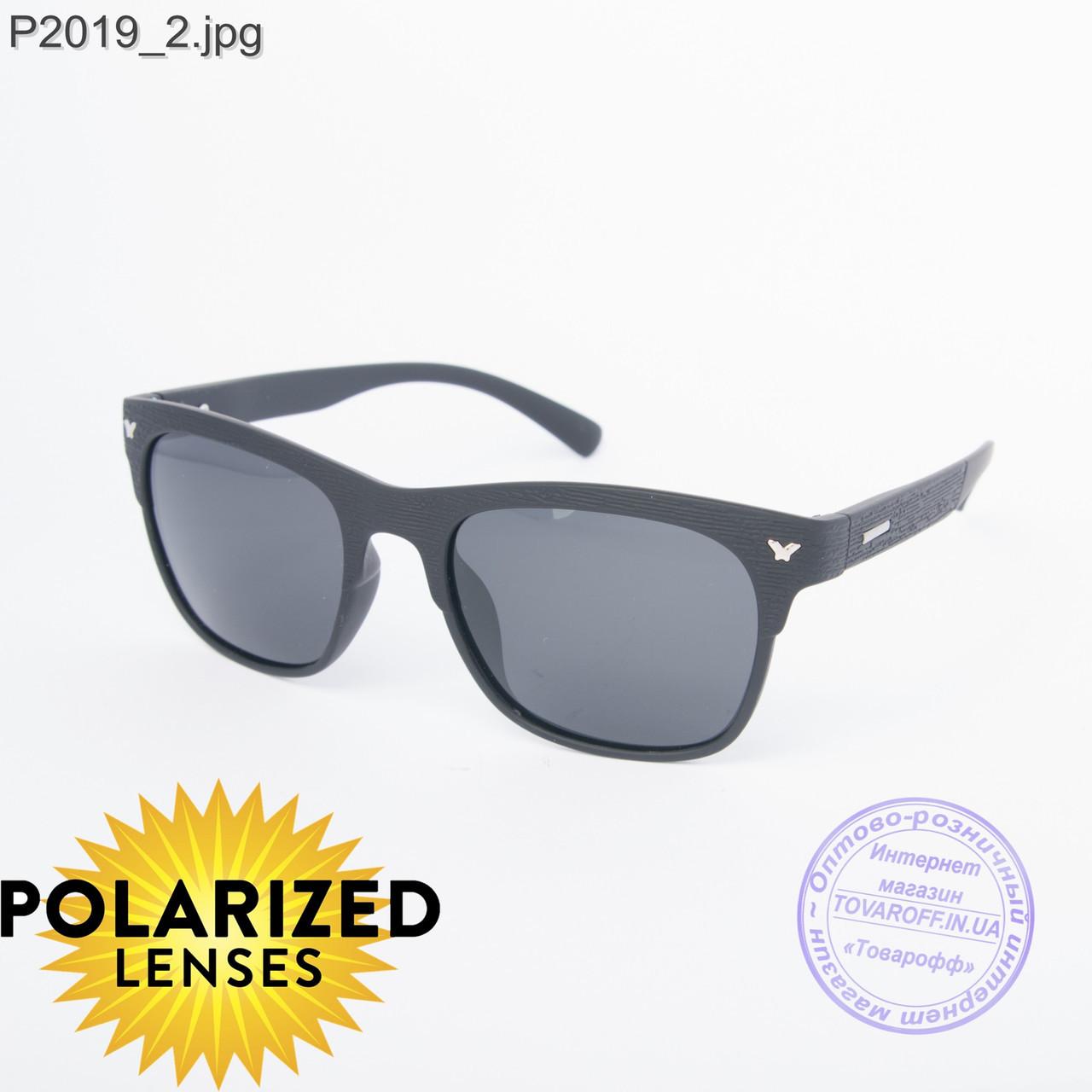 Оптом черные мужские поляризационные очки - 2019