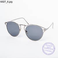 Оптом солнцезащитные очки унисекс черные - 6027